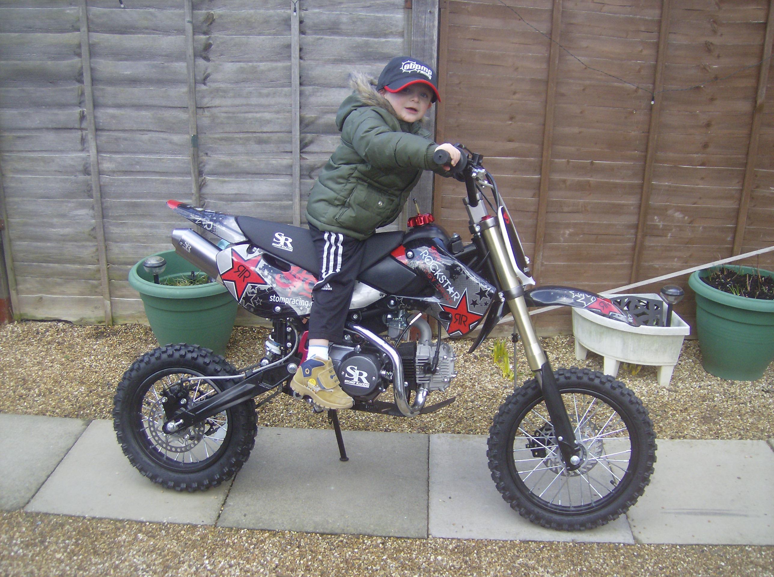 Stomp Klx Wpb Stomp Pit Bikes