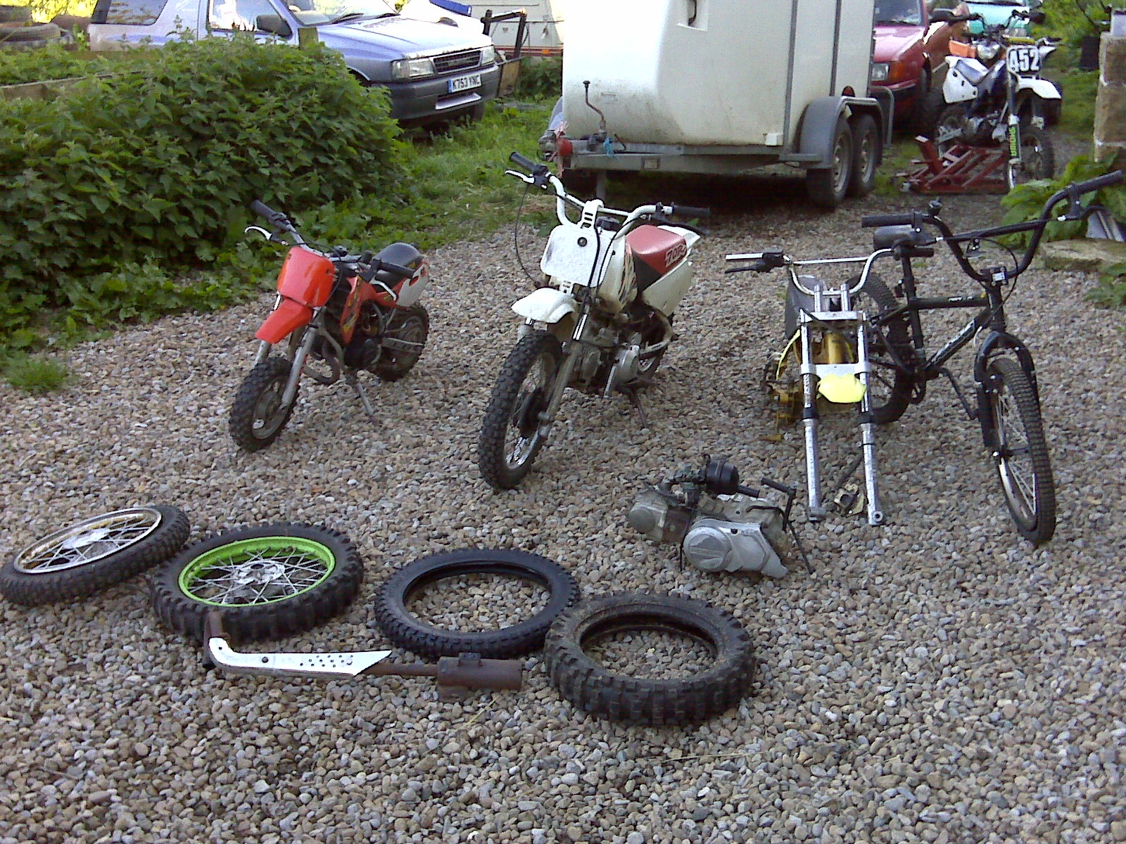 All These For 175 Pit Bike Club 2006 Honda 50cc