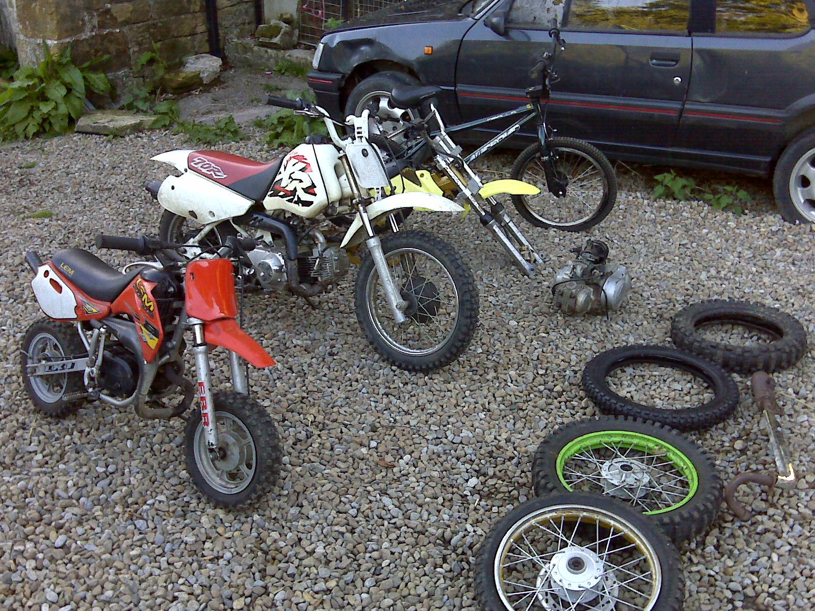 All These For 175 Pit Bike Club 2006 Honda 50cc