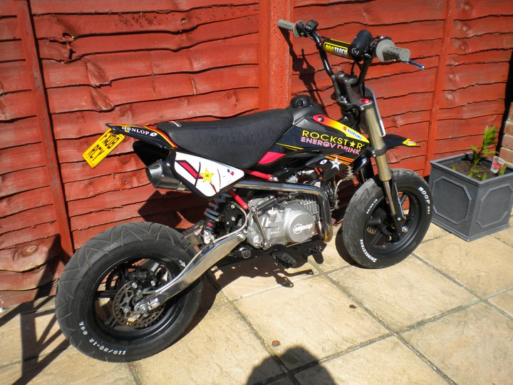 Small Numberplates 7x5 Pit Bike Club
