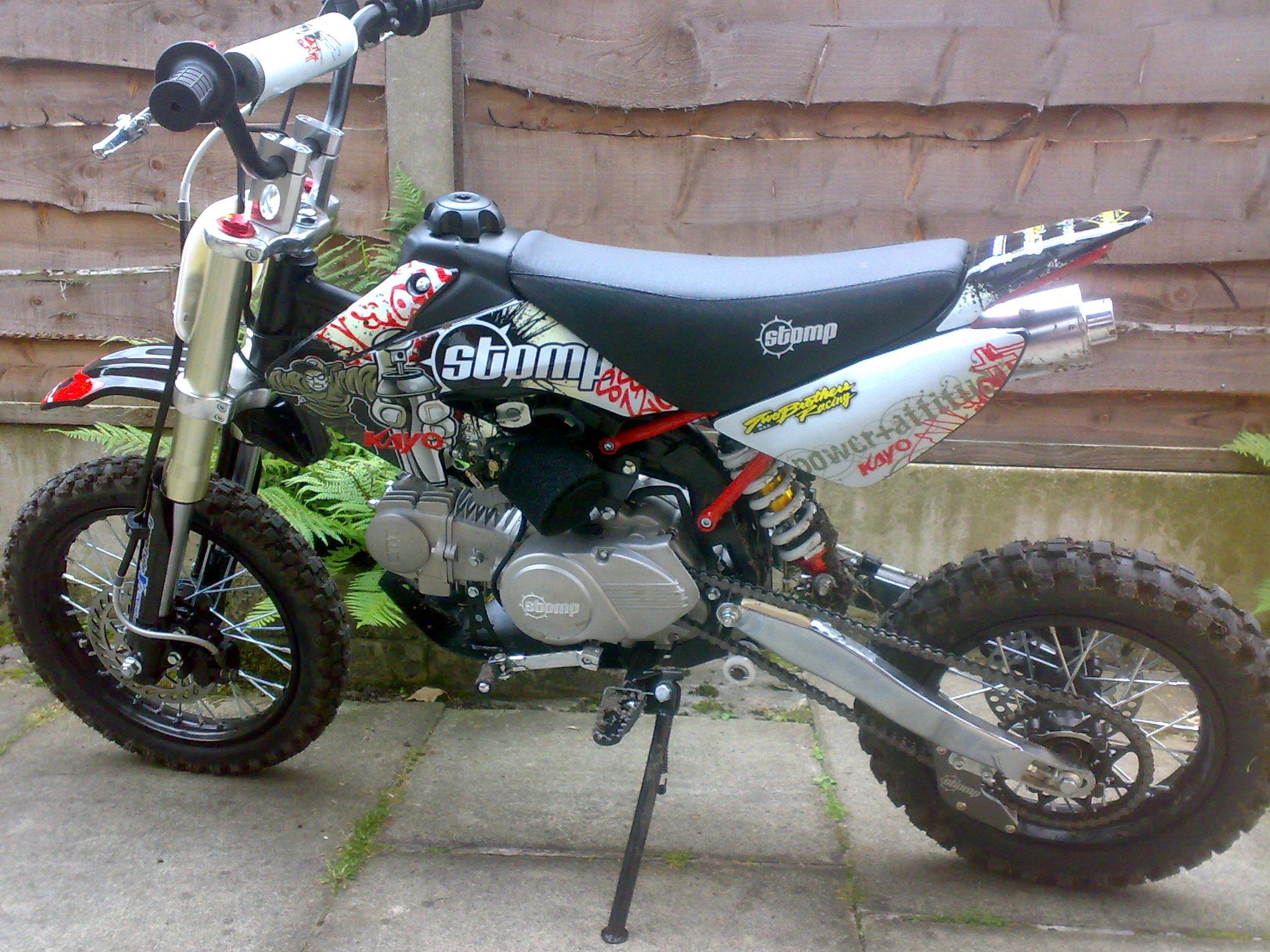 Stomp Dirt Bikes Carburetor Gallery